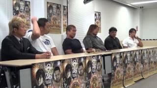 2012.8.26(日)横浜大花火(横浜文化体育館)で行われる ☆タッグマッチ Z...