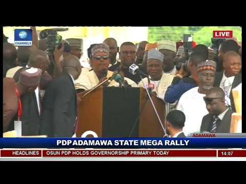 PDP Adamawa Kicks Off Atiku Campaign Pt.5 |Live Event|