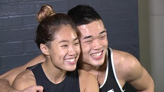 Angela & Christian lee confident that history will be made this Friday