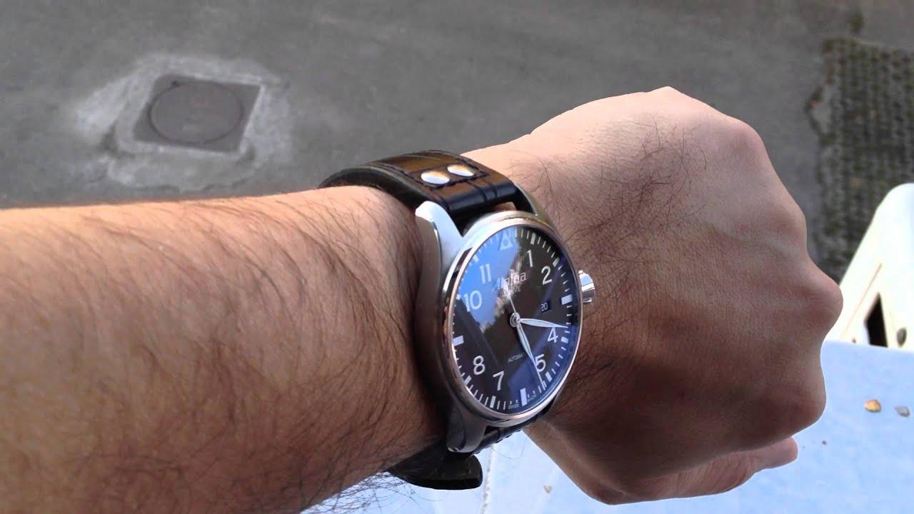 Unique Alpina Startimer Pilot A Legendary Swiss Manufacturer - Alpina automatic watch