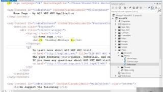39- استخدام ASPX مع MVC thumbnail