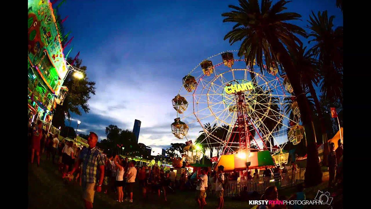 Fisheye Time Lapse of Moomba Festival, Melbourne - YouTube