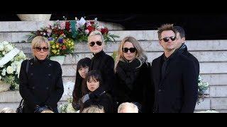 Obsèques de Johnny Hallyday   Pourquoi David Hallyday et Laura Smet en ont voulu à Laeticia
