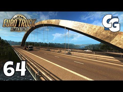 Euro Truck Simulator 2 - Ep. 64 - New Svinesund Bridge! (Norway-Sweden) - ETS2 ProMods 2.1 Gameplay