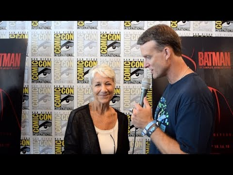Download Andrea Romano SDCC Interview for Batman: The Animated Series Blu-ray Release