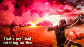 EPIC FIREWORK BATTLE GONE WRONG! (Elton Catches on Fire)