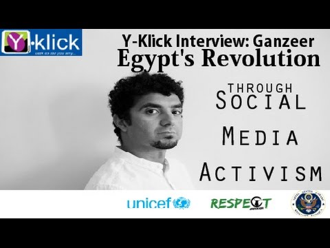 Y-KLICK Interview with Ganzeer on Egypt's Arab Spring