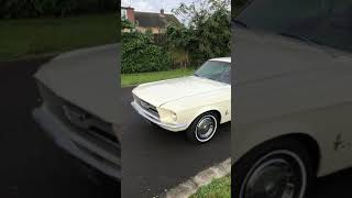 1967 Ford Mustang 289 with duel cherry bomb exhaust sound