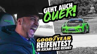JP Performance - Geht auch quer! | Goodyear Reifentest im Ascari Race Resort