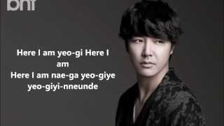 OSCA \ OSKA (YOON SANG HYUN) - HERE I AM LYRİCS