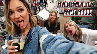 being stupid in home goods! vlogmas day 13
