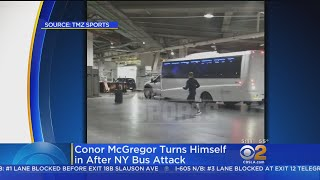 UFC Fighter Conor McGregor Arrested After Attack On Bus