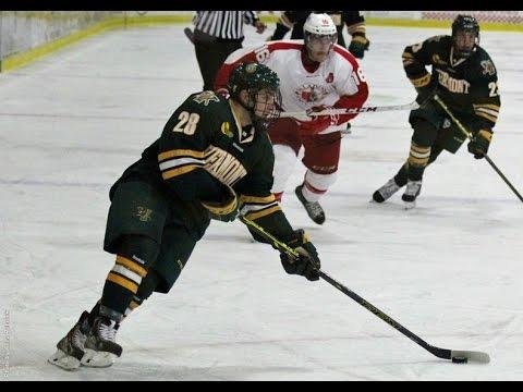 Men's Hockey: Vermont vs. RMC (10/5/14)