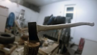 The Making Of An Axe Handle