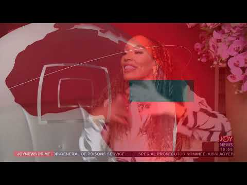 Tanya Sam in Ghana: Hollywood actress traces her roots - Joy ShowBiz Prime (22-7-21)