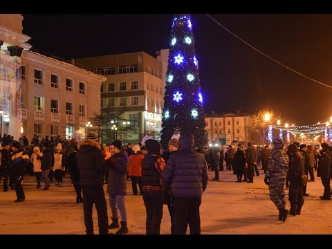 Новый год в Магадане