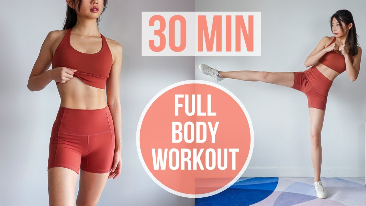 BEST 30 MIN SUMMER FULL BODY WORKOUT (with No Jumping Options) #EmiTransform