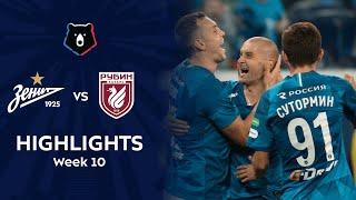 Highlights Zenit vs Rubin (5-0)