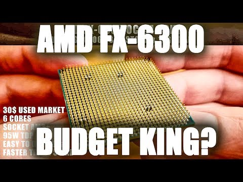 AMD FX-6300 30$ Budget King CPU In 2019? 12 Games Tested!