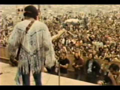 Jimi Hendrix Voodoo Child and The Star Spangled Banner