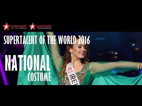 Miss SUPERTALENT 2016 Season 7 Grand Final National Costume