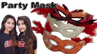 DIY How to make Party Mask | JK Arts 119