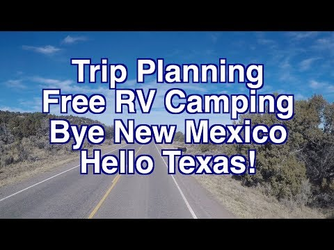 Heading to San Antonio and How We Plan Our Trips For Free RV Stays