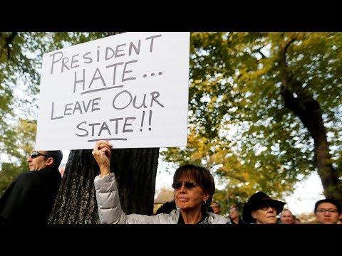 "Питтсбург против Трампа, а он — против ""права почвы""   АМЕРИКА   30.10.18"