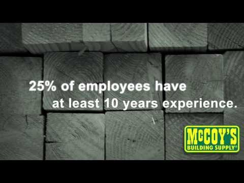 McCoy's Building Supply - Who We Are