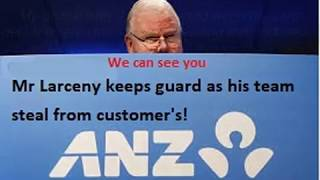 ANZ FRAUD TEAM (THEIR EMPLOYEES) Australia's Nastiest Zillionaire's!