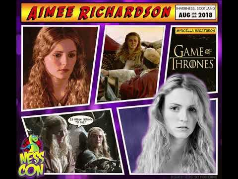 Aimee Richardson NessCon Announcement