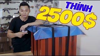 MixiGaming nhặt được airdrop PUBG, Choáng váng khi bên trong có 2500$