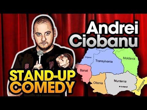 Andrei Ciobanu - Despre Uber si regiunile Romaniei (stand-up comedy @Club 99)