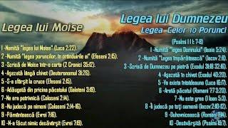 Legea lui Moise si LEGEA lui Dumnezeu CONFLICTUL FINAL si BISERICA ADEVARATA