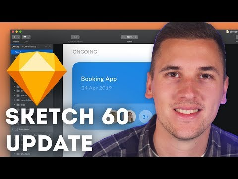 Sketch 60 is here! NEW Components Panel 💎 thumbnail