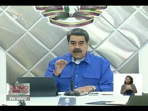 Maduro en el Puesto de Comando Presidencial ante lluvias que afectan 11 estados y dejan 15 muertos