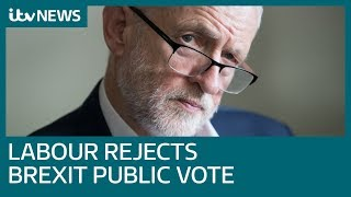 Victory for Jeremy Corbyn as Labour rejects call to back publi…
