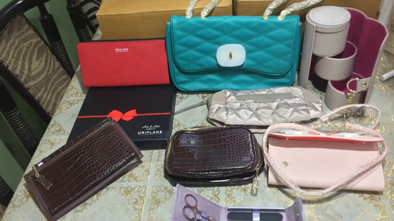Oriflame World Bags And Wallet Collection Products