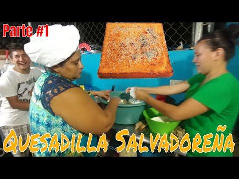 Como preparar la masa para las Quesadillas Salvadoreñas. Ingredientes al tanteyo Parte 1