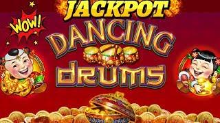 High Limit Dancing Drums Slot Machine HANDPAY JACKPOT | Season 8 | Episode #11