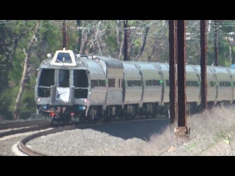 Amtrak & MARC Trains With A Couple Surprises