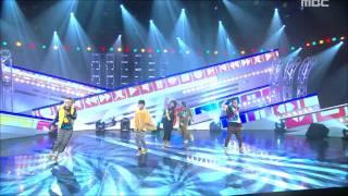 b1a4 beautiful target 비원에이포 뷰티풀 타겟 music core 20111001