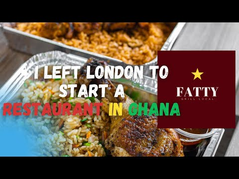 It's Not Easy, But It's Worth It I How I Left London To Start A Restaurant in Ghana #busin