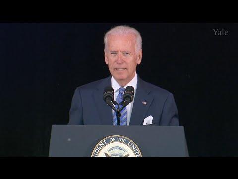 Vice President Joe Biden at Yale's Class Day 2015