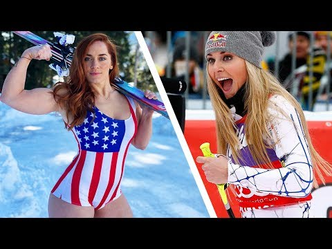 I Trained Like Lindsey Vonn - USA Alpine Ski Racer - PyeongChang 2018 Olympic Winter Games