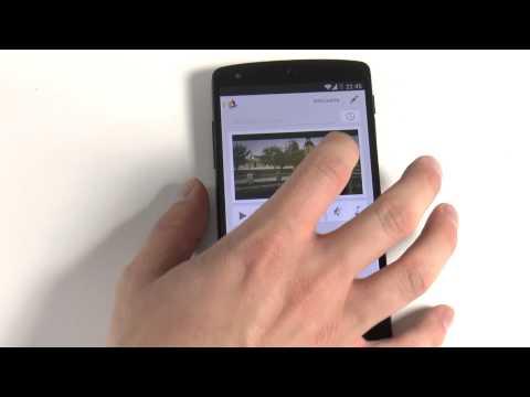Kurzfilm mit Auto Effekten und Musik einfach mittels neuer Fotos App am Nexus 5 erstellen