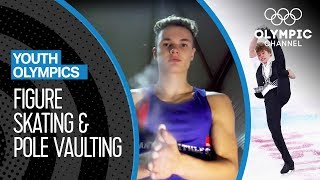The future stars of Pole Vaulting & Figure Skating train for Buenos Aires! | Youth Olympic Games
