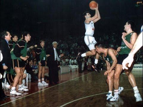Final Euroliga 1992. Partizán-Joventut. El triple de Djordjevic. Audio Montes-García-Siro