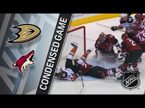 04/07/18 Condensed Game: Ducks @ Coyotes