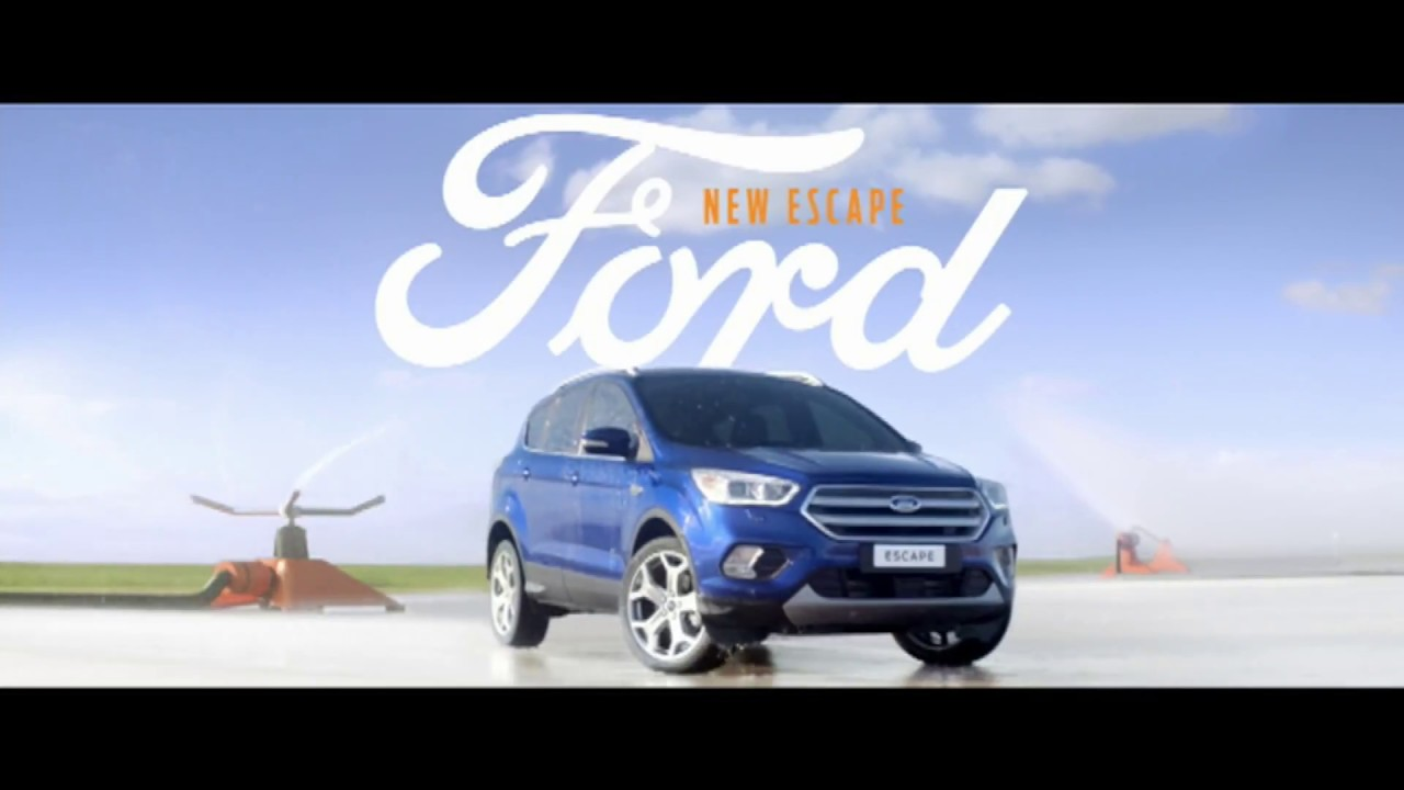 New ford escape suv come out and play tv commercial 2016